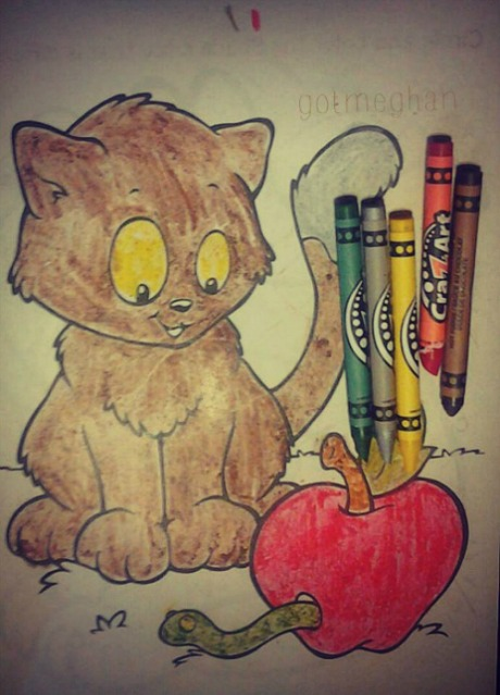 My cute coloring page :O)