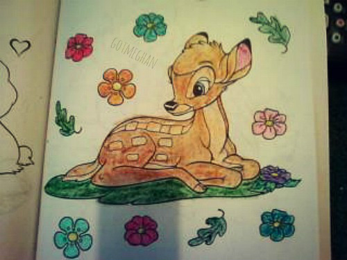 I worked on this the same day as the Simba picture. I finished it earlier this week though.