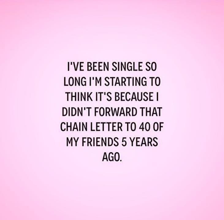 Being single at 40